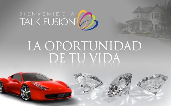 PRESENTACION OPORTUNIDAD TALK FUSION LIVE HORA 8:45 PM  HORARIO DE MEXICO