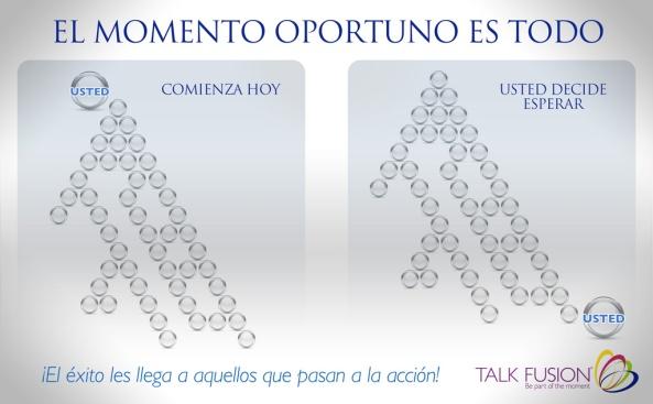HOY PRESENTACION EN DIRECTA OPORTUNIDAD TALK FUSION - ONLINE HORA 21:30 PM